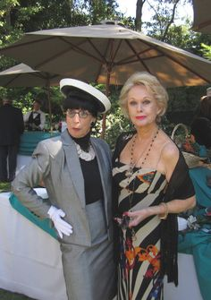 Edith Head, costume designer extraordinaire, and Tippi Hedren, talented actress. Tippi Hedren, Minnesota, Hooray For Hollywood, Old Hollywood, Best Costume Design, Edith Head, Hollywood Costume, Advanced Style, Ageless Beauty