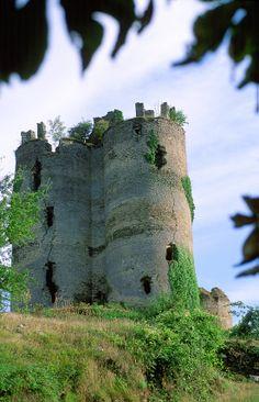 le château de Roumégous
