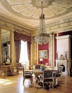 Interior of The Royal Palace, Oslo, Norway Beautiful Interiors, Beautiful Homes, Beautiful Places, Norway Destinations, Interior Styling, Interior Decorating, Interior And Exterior, Interior Architecture, Beautiful Norway