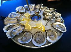 #Oysters from Taylor Shellfish on Capitol Hill