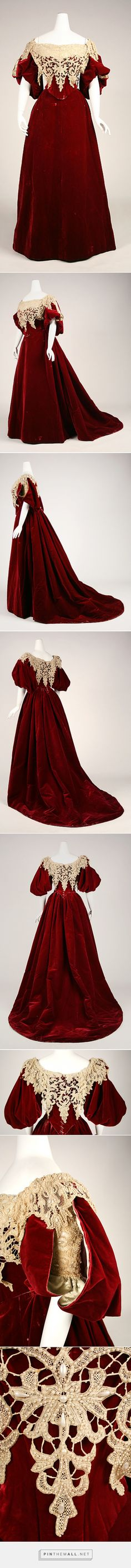 Evening dress by House of Worth 1893-95 French | The Metropolitan Museum of Art