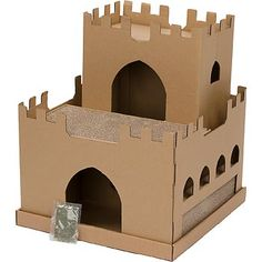 Planet Petco Castle Cardboard Cat Scratcher