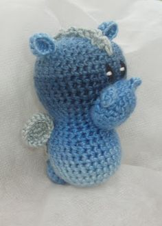 Amigurumi Crochet Sels: Another lucky dragon