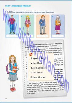 7. Sınıf İngilizce Pantera Yayınları Ders Kitabı Cevapları Sayfa 12   7. Sınıf İngilizce Pantera Yayınları Ders Kitabı Cevapları Sayfa 12 ... Secondary School, Math Teacher, Jokes, The Unit, Writing, Reading, Middle School, Husky Jokes, Math Coach
