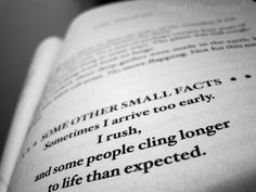 ***HERE IS A SMALL FACT***  You are going to die.    -Markus Zusak, The Book Thief