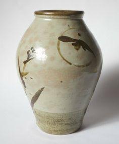 A beautiful large vase by Hamada Shoji