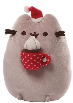 Feel awesome with Pusheen Christmas Snackable Plush. Get ready for mesmerising collection of Pusheen Plush Toys for Christmas at ToyHo. Pusheen Toys, Gato Pusheen, Pusheen Plush, Pusheen Cute, Pusheen Stuffed Animal, Cute Stuffed Animals, Crazy Cat Lady, Crazy Cats, Pusheen Christmas