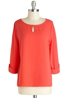 I Feel Grapefruit Top, #ModCloth