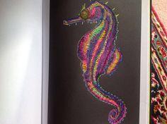 Seahorse By Susan Lowe