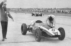 Watch Jack Brabham push his car across the line to become World Champion