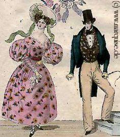 Viennese Fashion, 1830