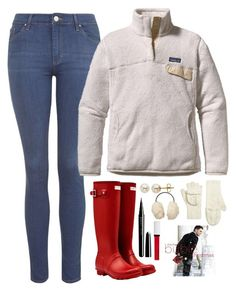 """#twelvedaysofchristmas2k15 Day 10"" by evieleet ❤ liked on Polyvore featuring Topshop, Patagonia, Hunter, Lord & Taylor, Brooks Brothers, Uniqlo, Givenchy, Marc Jacobs and twelvedaysofchristmas2k15"