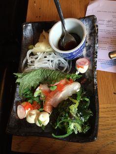 Sushi plate at restaurant Gaijin