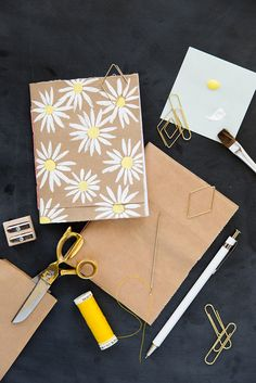 If you need a new fun activity check out our DIY brown bag bookbinding! So pretty, so fun, and absolutely beautiful