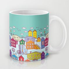 winter landscape Mug by EkaterinaP - $15.00