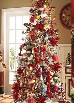 LOVE the socks on the tree.  Could buy real, colorful ones to wear later...