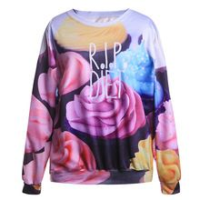 Women Jumpers Tracksuit Santa Christmas Gift Tracksuits for Women Men 3D Print Flowers loose Hoodies Pullover Sweatshirts HOT(China (Mainland))