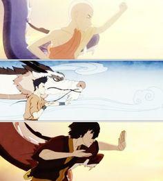 The Legend of Korra/ Avatar the Last Airbender: dragon dance