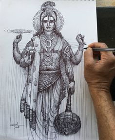 Art Drawings Beautiful, Art Drawings Sketches Simple, Shiva, Durga Painting, Polygon Art, Indian Folk Art, India Art, Indian Art Paintings, Goddess Art