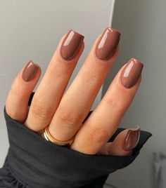 Simple Fall Nails, Fall Gel Nails, Cute Nails For Fall, Nails For Autumn, Fall Nail Art, Nail Colors For Fall, Acrylic Nails Coffin Short, Simple Acrylic Nails, Fall Acrylic Nails