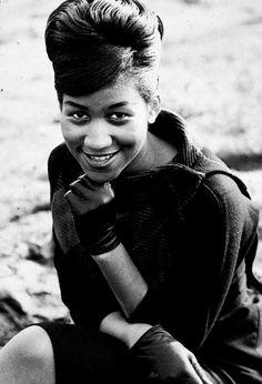 Aretha Franklin, 1961.