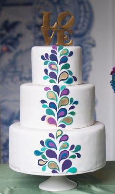 Wedding Cakes CT | Erica OBrien Cake Design | Hamden, CT by Isabel G.E (Spain)