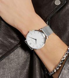 Larsson & Jennings CM Silver-Plated Watch