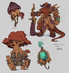 Pin by toysoul peng on q monster&character&animals_q 版 怪 物 & Fantasy Character Design, Character Design Inspiration, Character Concept, Character Art, Character Creation, Monster Design, Monster Art, Creature Concept Art, Creature Design