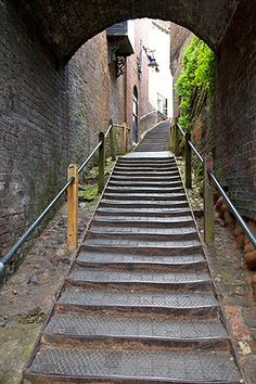 Stoneway Steps Bridgnorth Shropshire England, via Flickr. Great Places, Places To See, Beautiful Places, Short Breaks, British Things, West Midlands, English Countryside, British Isles, Home And Away
