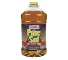 Clorox Pine-Sol, Cleaner Disinfectant Deodorizer, Pine Scent, 4.5 qt., One Bottle Each