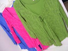 Women's Knit Tops Blouse  Royal Blue  Hot Pink  by ARubyInTheRough