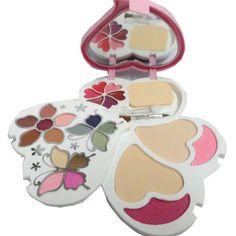 Off on Ads Makeup-kit With 14 Eye Shado 2 Blusher And 2 Compact Powder And 6 Lip Color – OXNDL Source by gujlandcampaign Makeup Box, Makeup Eyeshadow, Makeup Brushes, Kajal Pencil, Lip Pencil, Crystal Makeup, Minimal Makeup, Print Box, Kits For Kids