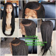 Braided Lace Wig, C-Shape Cornrow. Pre-Order only. Choose your colour and lenght African Braids Hairstyles, Weave Hairstyles, Woman Hairstyles, Hairdos, Black Girl Braids, Girls Braids, Braids Wig, Cornrows, Box Braids