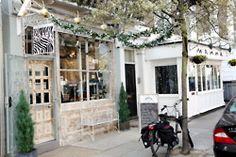 Oldest vegetarian restaurant in London: Manna Restaurant & Press Boutique