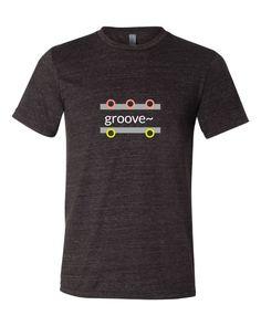 """groove~"" Triblend Short Sleeve T-Shirt"