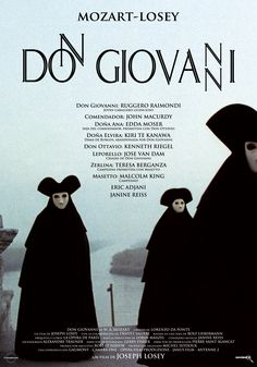Don Giovanni Losey 1979 Poster