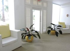 Serene spa waiting room at Couples Tower Isle. What's your favorite spa treatment. . . FACIAL or MASSAGE?