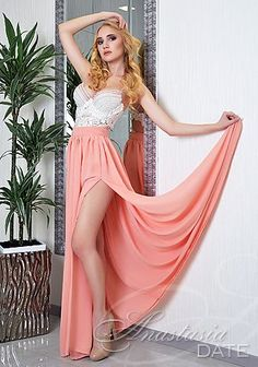 Enjoy browsing our photo gallery! Take a look at pretty Ukraine woman Anastasia