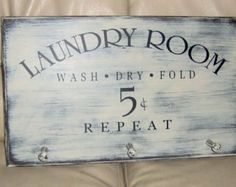 vinyl crafts for the laundry room