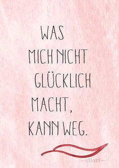 Kann weg, Lettering Card, Quote Art, Word Art, Statements, Zitate, Sprüche, Karten (Cool Quotes)