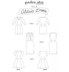 robe Aldaia PDF Pattern - paulinealice
