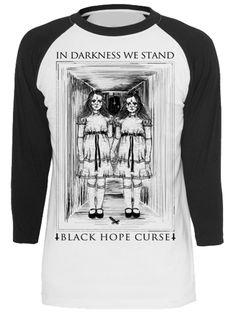 "Unisex ""Dark Daughters"" Raglan Tee by Black Hope Curse (Black) #inkedshop #graphictee #fashion #top #art"