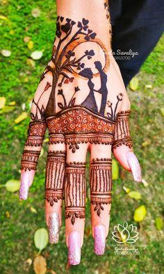 Romantic couple in moon Engagement creation Peacock Mehndi Designs, Mehndi Designs Feet, Simple Arabic Mehndi Designs, Indian Mehndi Designs, Mehndi Designs 2018, Stylish Mehndi Designs, Mehndi Design Photos, Wedding Mehndi Designs, Engagement Mehndi Designs