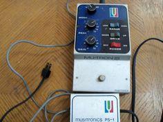 Original Mutron III Vintage Guitar Effects Pedal