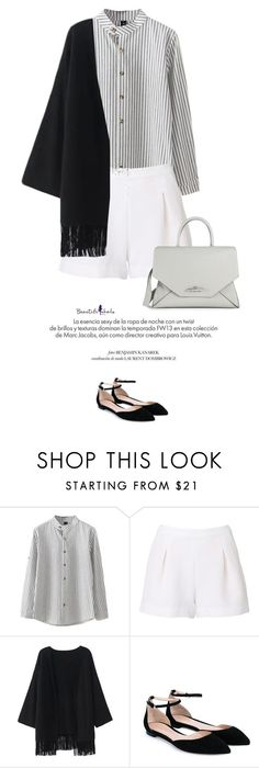 """""""Beautiful Halo #3"""" by anja-173 ❤ liked on Polyvore featuring Witchery, Gianvito Rossi, Givenchy, Louis Vuitton, women's clothing, women, female, woman, misses and juniors"""