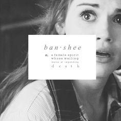 Lydia Martin; Banshee. #WailingWoman #TeenWolf