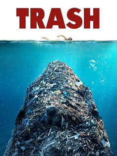 What's scarier than this? There are entire islands of trash...floating trash islands in our oceans.....why??