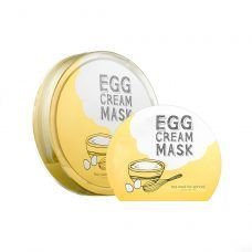 New Face Masks to Try During Holiday Break: Too Cool For School Egg Cream Mask Hydration | coveteur.com