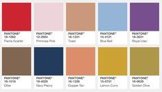 Модные цвета Осени 2017 | Pantone Fashion Color Report - bracatuS. Про колготки, чулки, носки...