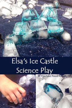 Elsa's Ice Castle Science Play!!